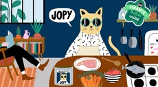 JOPY - La croquette qui montre patte blanche