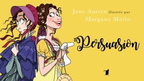 Margaux Motin illustre Persuasion