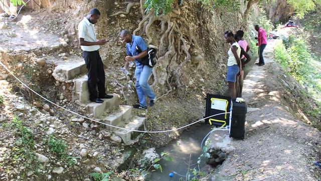 De l'eau potable pour Haïti