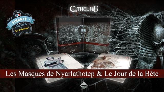 nouvelle sélection mode de vente chaude recherche d'officiel Les Masques de Nyarlathotep et Le Jour de la Bête - Ulule