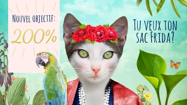 0632b5a065 LE SAC SO MEOW pour les amoureux des chats! - Ulule
