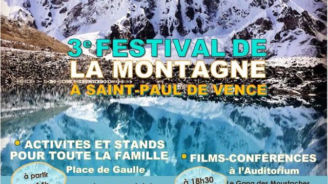Festival de la montagne 3e edition ulule - Office du tourisme saint paul de vence ...