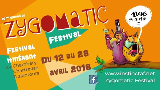 10ème édition du Zygomatic Festival ! - Ulule