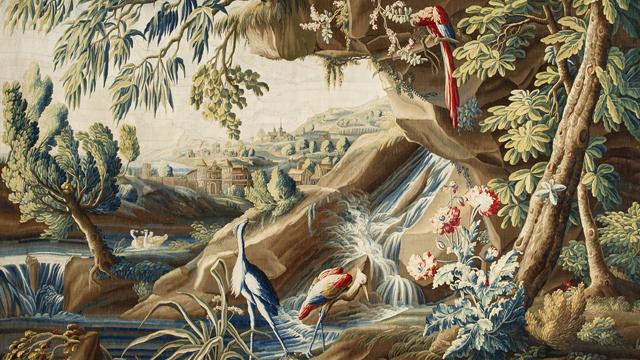Un chef d 39 oeuvre de la tapisserie d 39 aubusson ulule - Comment decoller de la tapisserie ...
