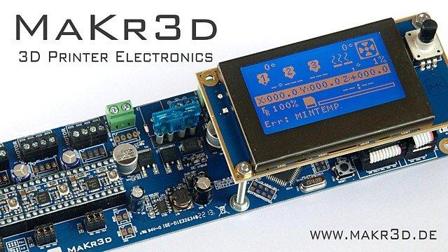 MaKr3d Melzi controller board - Ulule