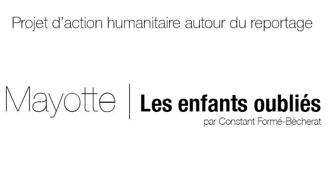 Action humanitaire autour du reportage mayotte les for Reportage mayotte
