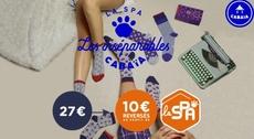 La SPA x Cabaïa : Chaussettes inséparables 2