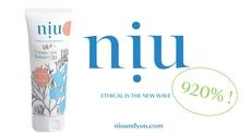 NIU - Crème solaire écologique & made in France