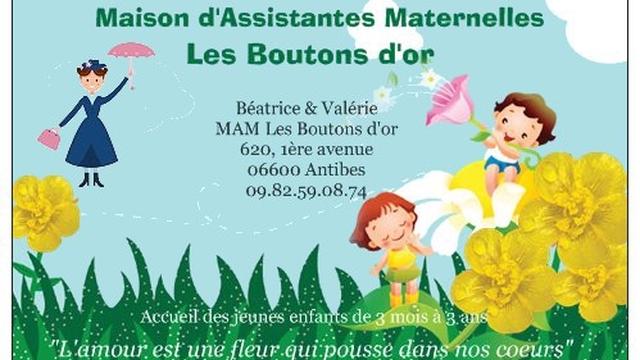 Les Boutons Dor Maison Dassistantes Maternelles