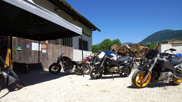 Big ben motorcycle ulule for Ouvrir garage moto