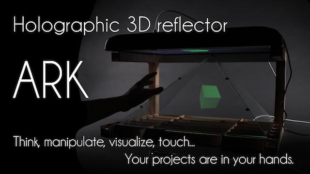 3D ARK holographic reflector - Ulule