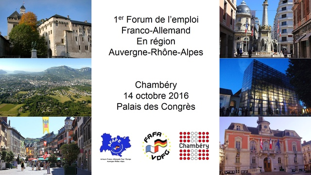 Forum de l 39 emploi franco allemand ulule - Cabinet de recrutement franco allemand ...