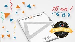 Le magazine des 15 ans de Next INpact