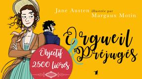 Orgueil & Préjugés illustré par Margaux Motin