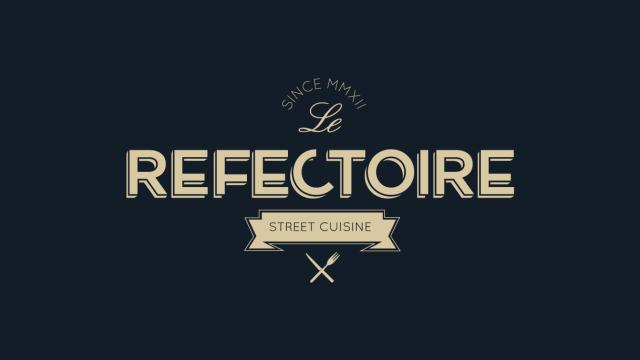 Le Refectoire Food Truck Logo