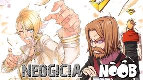 NOOB - NÉOGICIA - manga, artbook et light novel